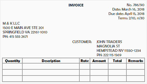 Sales Journal Explanation Format Example Accounting For Management - Send invoice to customer journal entry